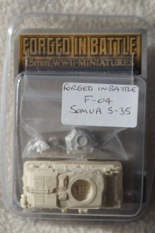 Forged in Battle 15mm F-04 Somua S-35